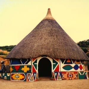 South African hut