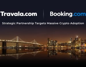 Travala.com and Booking.com partnership